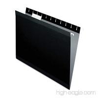 Pendaflex Reinforced Hanging Folders  Letter  1/5 Tab  Black  (ESS415215BLA) - B002VD02WK