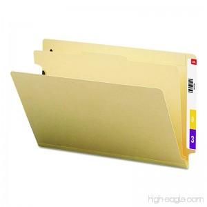 Smead End Tab Classification File Folder 1 Divider 2 Expansion Legal Size Manila 10 per Box (29825) - B001L1RF4G