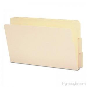 Smead End Tab File Folder Shelf-Master Reinforced 1/3-Cut Tab Legal Size Manila 100 per Box (27134) - B000GR7T0Q