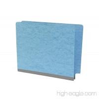 TAB Pressboard Expansion Folder Letter Size Blue 25/Box - B01K593IGS