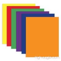 4 Pk Bazic 2-Pocket Portfolios Assorted Colors - B00M4CSDCO