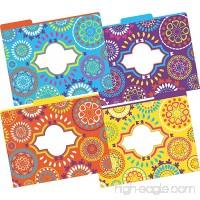 Barker Creek Fashion File Folders - Moroccan  Set of 12 (LL-1335) - B00RY3W3BA