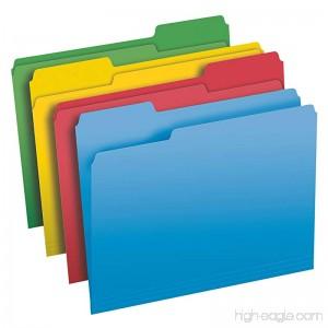 Pendaflex File Folders Letter Size 1/3 Cut Assorted Colors 50 Folders per Box (75706) - B00IT4OXH0