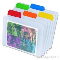 Pendaflex Poly File Folders Letter size Assorted 25 per box (55702) - B0000AQOGQ