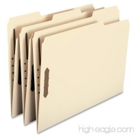 Smead 100% Recycled Fastener File Folder  2 Fasteners  Reinforced 1/3-Cut Tab  Letter Size  Manila  50 per Box (14547) - B00112SBKC