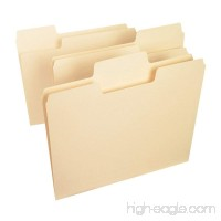 Smead SuperTab File Folder  Oversized 1/3-Cut Tab  Letter Size  Manila  100 Per Box (10301) - B0013CNU6U