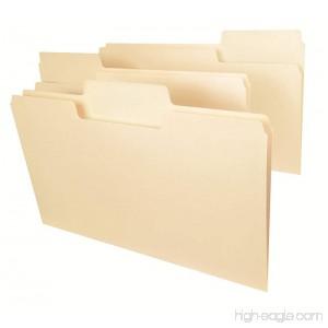 Smead SuperTab Heavyweight File Folder Oversized 1/3-Cut Tab Legal Size Manila 50 Per Box (15401) - B0064LBWSI