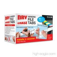 Filertek Hanging File Dry-Erase Reusable Tabs for Hanging Files with Dry-Erase Pen Box of 50 Tabs Assorted Colors (FT-1150C) - B004LO976Y