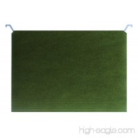 Find It Tab View Hanging File Folders  Letter Size  8.5 x 11 Inches  Standard Green  Pack of 25 (FT07081) - B078WT11LH