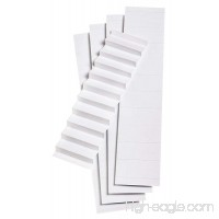Pendaflex Blank Inserts for 1/5 Cut Hanging File Folders  2 in  White  100/Pack (242) - B009R5JDIY