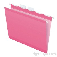 Pendaflex Color Hanging Folders  Built-In 1/5 Tab  Letter  Pink  20/BX (90240) - B00EHOI0PW