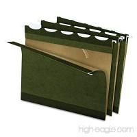 Pendaflex Ready-Tab Reinforced Hanging File Folders  Letter Size  Standard Green  5 Tab  25/BX (42590) - B0000AQOD2