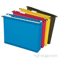 Pendaflex SureHook Reinforced Extra Capacity Hanging Pockets Letter Size Assorted Colors 4/PK (09213) - B006K0PM6Q