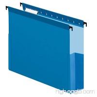"Pendaflex SureHook Reinforced Hanging Box File  3""  Letter  Blue  1/5 Cut  25/BX (59203) - B001P4RAGM"