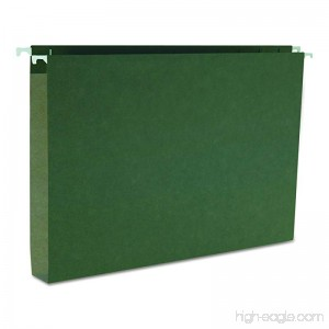 Smead Box Bottom Hanging File Folder 1 Expansion Legal Size Standard Green 25 per Box (64339) - B000DZA0X4