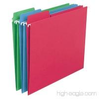 SMEAD FasTab Colored Hanging Folders  Letter 30ct - B007FH0U7O