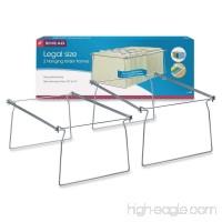 Smead Steel Hanging Folder Frame  Legal Size  Gray  2 per Pack (64873) - B000J0B79Y