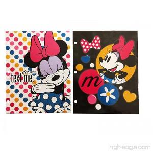 Disney Minnie Mouse Folders Pack of 2 - B07DX6X7BZ