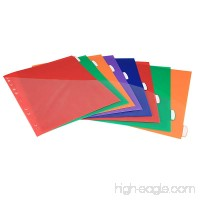 Insertable Plastic Dividers Binders Dividers with Pockets & tabs 8-Tab Set Multi-Color Pack of 3 - B075WSYHNY
