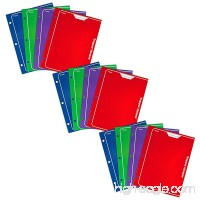Mead Trapper Keeper 2-Pocket Portfolio  12 x 9.38 x .12 Inches  Assorted Colors  Pack of 12 - B07C8HSQJG