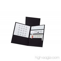 Pendaflex Divide It Up 4 Pocket Folders  Letter Size  Black  20 per Box (57403EE) - B00B5OUE2Y