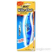 BIC White-Out Exact Liner Correction Tape Pen Non-Refillable 1/5 Inch x 236 Inches (WOELP11) - B003W100UO
