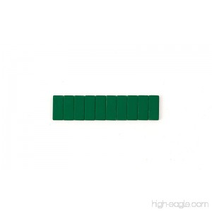 Blackwing Replacement Erasers - Green - 10 Count - B07778MLH1