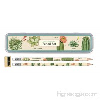 Cavallini Papers & Co.  Inc. Succulents Pencil Set 10 1 Sharpener - 1635440904