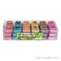 Geddes Snack Attack Scented Kneaded Eraser Assortment Set of 36 (68122) - B004FM51OO