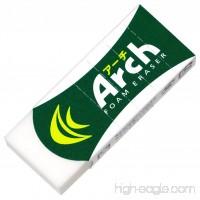 Sakura Arch Evolutional Foam Erasers  5-Pack  White (Japan Imported) - B0174KSUVY